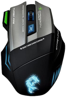 Dragon War G9 Thor USB Gaming Mouse (Multi Color) With Free Mouse Mat