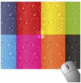 FineArts Colouful Water Drop Mousepad