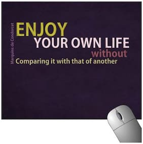 FineArts Enjoy Your Own Life Mousepad