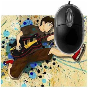 FineArts Feel the Six Sense Mousepad With Terabyte 3D Optical USB Mouse
