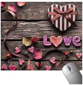 FineArts Love Wooden Mousepad