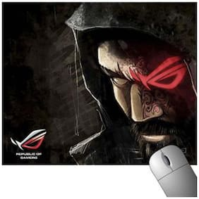 FineArts Republic Of Gamers Man Face Mousepad