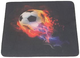 Futaba Anti-skid Mouse Pad Mouse with Football Pattern for Optical Mouse
