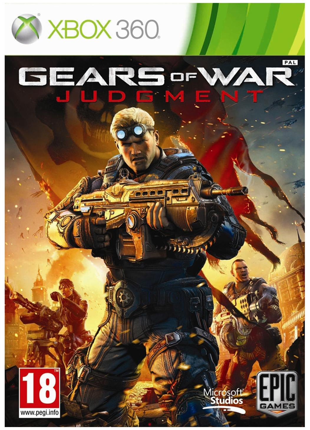 Gears of War: Judgment (For Xbox 360 )