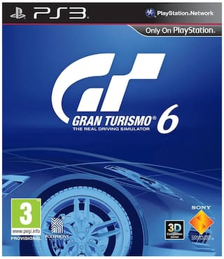 Gran Turismo 6 (For PlayStation 3)
