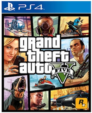 Grand Theft Auto V GTA 5 (For PlayStation 4)