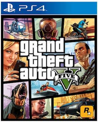 Grand Theft Auto V GTA 5 (For PlayStation 4)