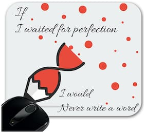 Huppme If i waited For Rectangle Mouse Pad
