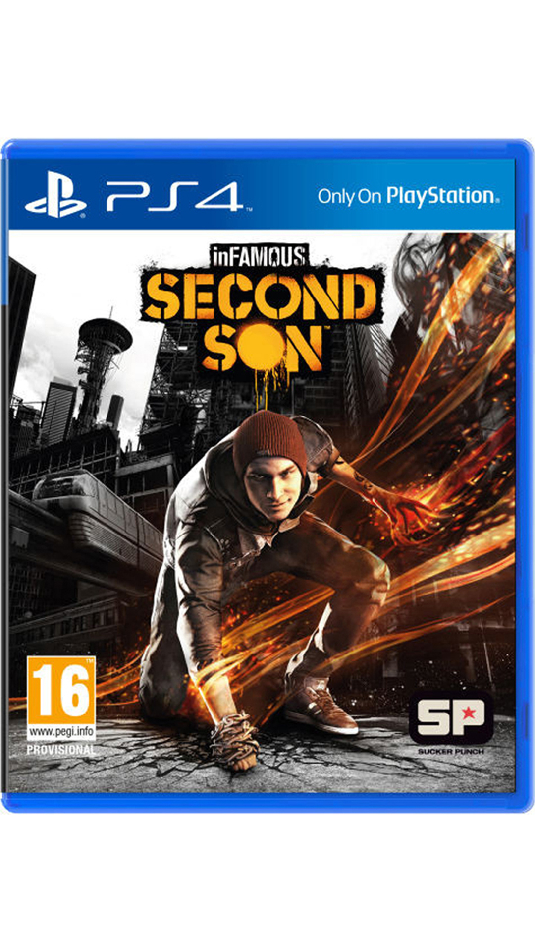Infamous: Second Son (For PlayStation 4)