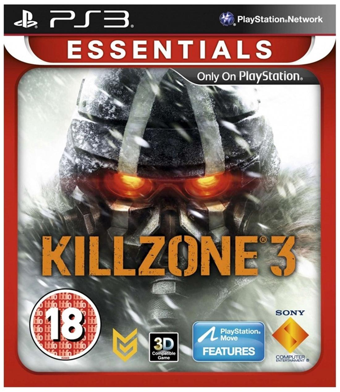 Killzone 3 Essentials (Standard Edition) (For PlayStation 3)