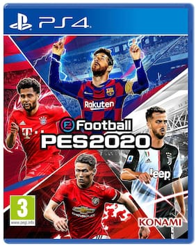 Konami eFootball PES Sports Physical Games 2020 (PS4)
