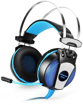 Kotion Each GS500 Over ear Gaming Headsets With Mic - Black