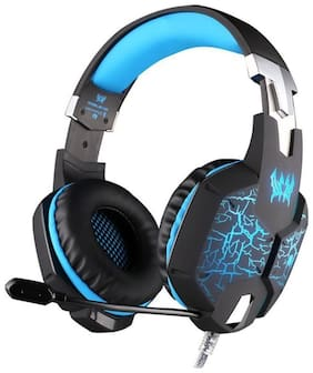 Kotion Each G1100 Over ear Headsets With Mic - Blue