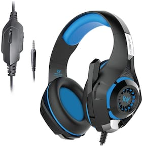 Kotion Each GS410 Over ear Headsets With Mic - Blue