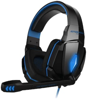 Kotion Each G4000 Over ear Headsets With Mic - Blue