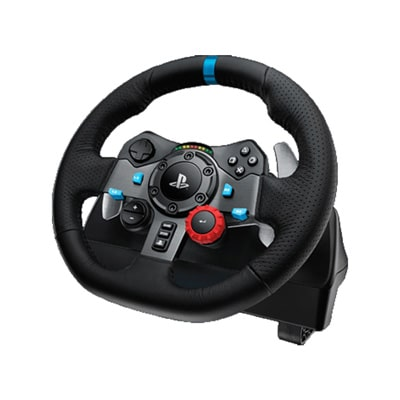 Logitech G29 USB Racing Wheel For PC/PS3/PS4 (Black)