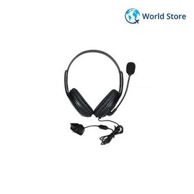 Magideal Black Stereo Headset Headphone with Microphone for Microsoft XBOX 360 2.5mm GBOXHS02