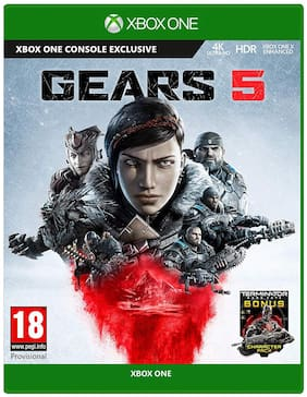 Microsoft Gears 5  Xbox One Action-Shooter  Standard Edition Physical Games