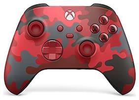Microsoft Wireless Controller Daysdtrike  Camo Red