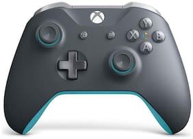 Microsoft Wireless Gamepad For Xbox One ( Grey & Blue )