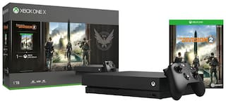 Microsoft Xbox One X 1TB Console - With 7 Games (Division 2,Forza Motorsport 6,Hellblade,Battlefield 1,Steep,Crew and Apex Legends)