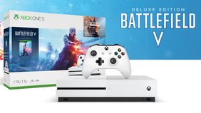 Microsoft Xbox One S 1TB Console - Gamepass Bundle With Battlefield 1, The Steep and The Crew (DLC)