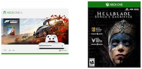 Microsoft Xbox One S 1TB Console - Forza Horizon 4 with Hellblade Senua's Sacrifice (CD)