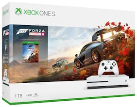 Microsoft Xbox One S 1TB Console - With 6 Games (Forza Horizon 4,Hellblade,Battlefield 1,Steep,Crew and Apex Legends)