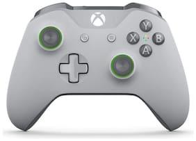 Microsoft Wireless Gamepad For Xbox One ( Grey & Green )