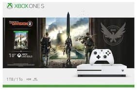 Microsoft Xbox One S 1TB Console - Tom Clancys the Division 2 Bundle