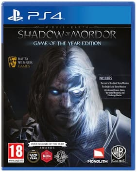 Middle - Earth : Shadow of Mordor (Game of the Year Edition) (For PS4)