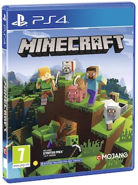 Minecraft Bedrock Ed. ( For PS4 )