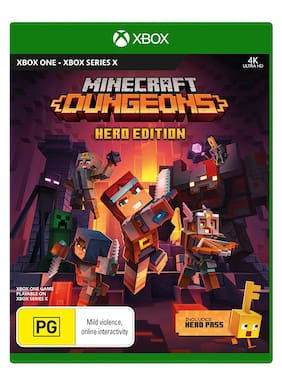 Minecraft Dungeons Hero Edition (Xbox One And Xbox Series X)