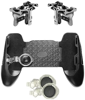 Tech-X Wireless Gamepad & Joysticks For Android & iOS ( Black )