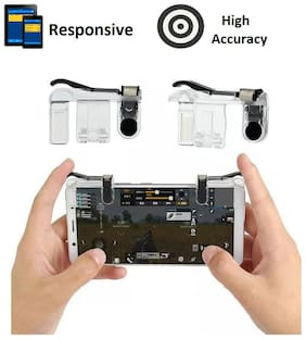 GLOWTRONIX Wireless Joysticks For Android ( Transparent )