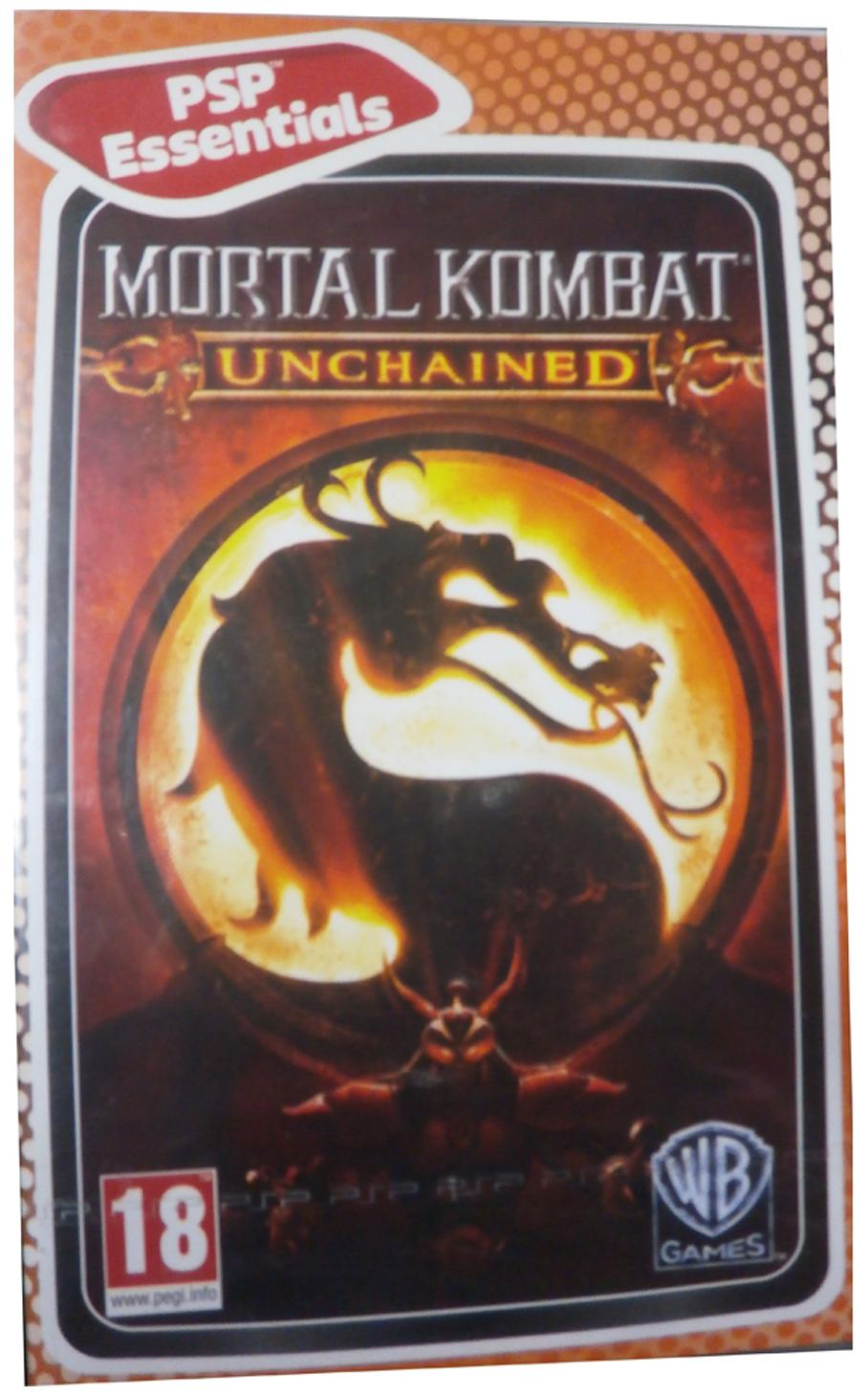 Mortal Kombat : Unchained (For PSP)