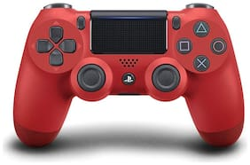 Movantis Wireless Gamepad For PS4 ( Red )