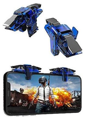 QUXXA Wireless Shoot & Aim Button For Android ( Blue )