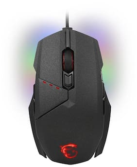 MSI Clutch GM60 Gaming Mouse 3600 DPI, Choose from millions of colors with RGB Mystic Light