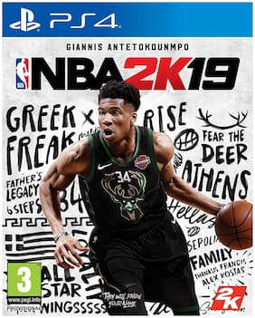 NBA 2K19  (for PS4)