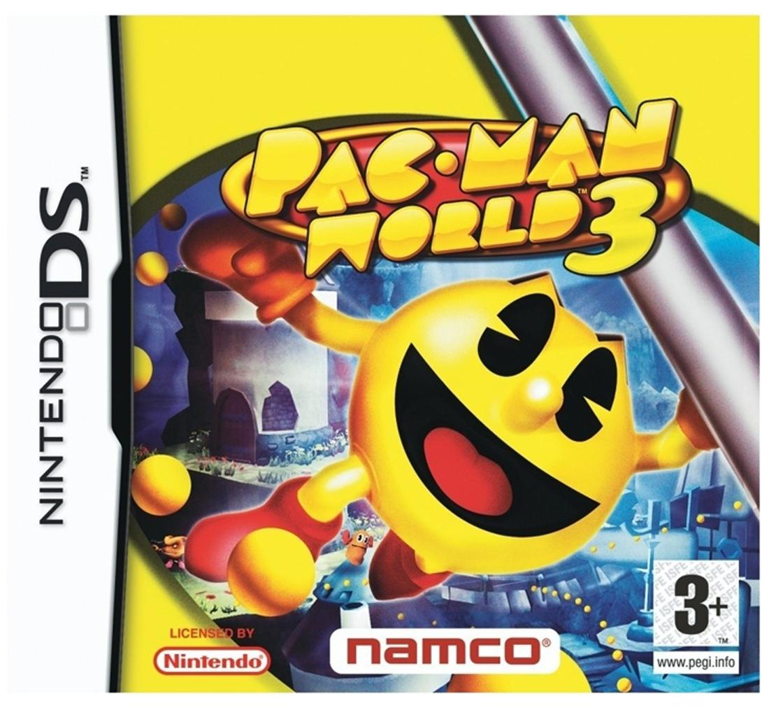 Packman World 3 (For DS)