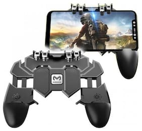 PINKLEAF Wireless Shoot & Aim Button For Android & iOS ( Black )