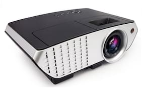 PLAY 3000 lumens LED Projector Full HD Data Show TV Video Games Home Cinema Theater Video Projector HD 1280x1080P with high 2000 : 1 Contrast 3000 lm LED Corded Portable Projector (Black)