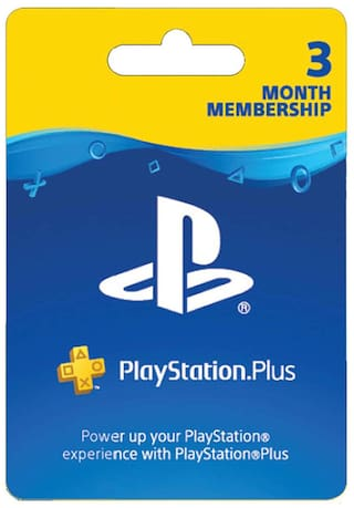 PlayStation Plus 3 Months Membership (India)
