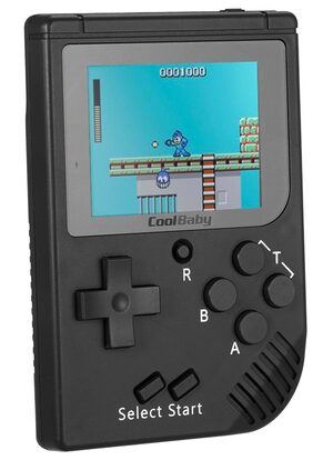 Pocket Handheld Video Game Console 2.2in LCD 8 Bit Mini Portable Game Player Built-in 129 Games