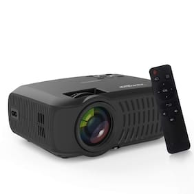 Portronics BEEM 200 POR-284, 30000 hours lamp life  LCD Projector (Black)