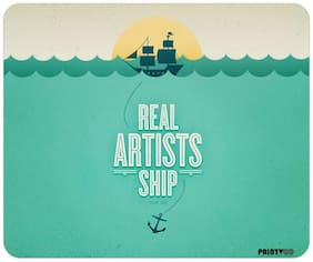 PrintVoo Artists Ship Quote Design Mousepad