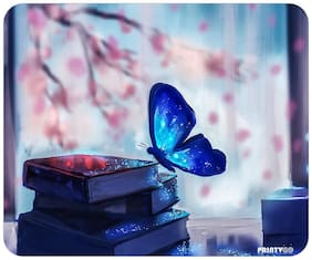 PrintVoo Fantasy Butterfly Design Mousepad
