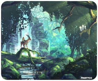 PrintVoo Mononoke Jungle Design Mousepad