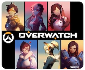 PrintVoo Overwatch Players Design Mousepad
